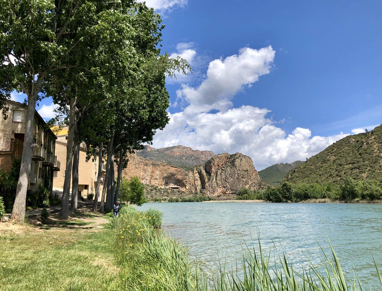 embalse de Sant Llorenç de Montgai, Camarasa, Lérida