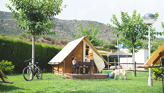 glamping caban offer